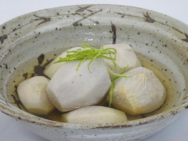 里芋の白煮